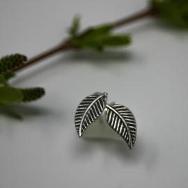 Leaf Earring Silver Stud